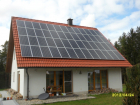 Standort: Pottenstein - Photovoltaik-Module: Sunflower SF 190M - Leistung: 9,88 kWp
