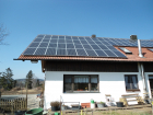 Standort: Bärnreuth - Photovoltaik-Module: Sunflower SF 190M - Leistung: 12,92 kWp