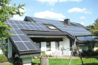 Standort: Gefrees - Photovoltaik-Module: Sunflower SF 185M - Leistung: 15,17 kWp